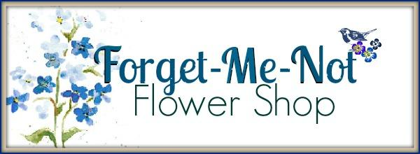 Forget Me Not Flower Shop- Lexington OH Forget Me Not Logo